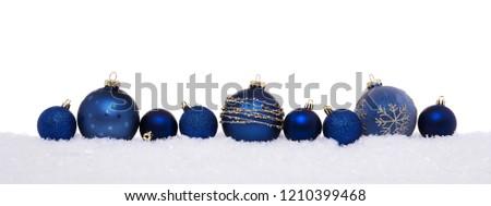 Azul claro Navidad aislado blanco alto Foto stock © ukasz_hampel