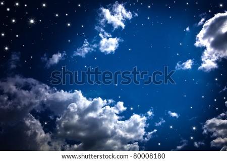 Absztrakt kozmikus csillagos ég fények fényes csillámlás Stock fotó © Anneleven