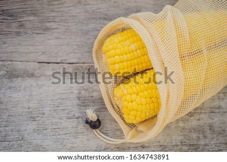 Kukurydza worek elegancki kuchnia Zdjęcia stock © galitskaya