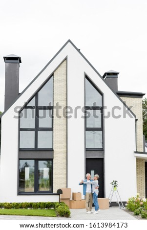 Handsome Goodlooking man on exterior architecture, outdoors port Stock photo © Victoria_Andreas