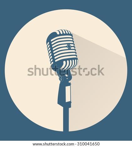 arany · mikrofon · izolált · fehér · zene · terv - stock fotó © leonido