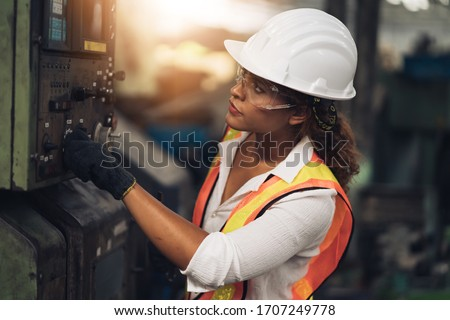young woman construction worker stock photo © photography33