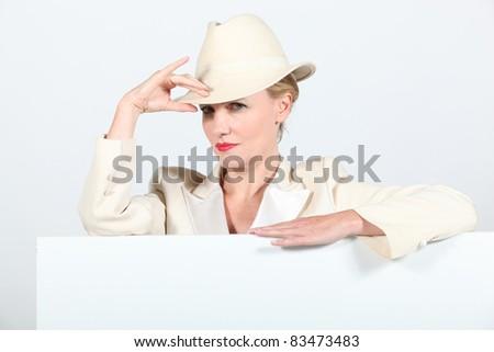 blond · vrouw · kostuum · partij · model · bal - stockfoto © photography33