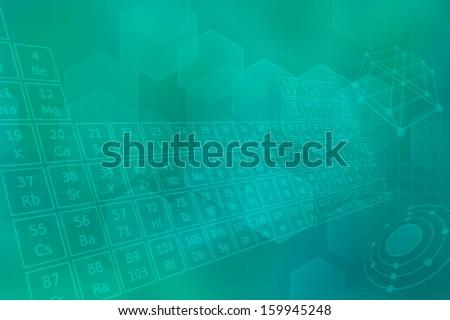 ターコイズ 未来的な 周期表 要素 抽象的な 医療 ストックフォト © Zerbor