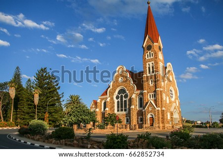 Stock photo: christ church windhoek