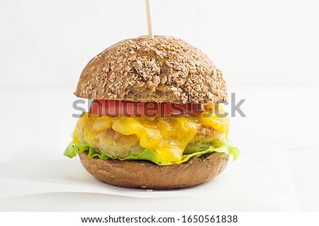 zöld · disznóhús · vesepecsenye · krumpli · cékla · sajt - stock fotó © yatsenko
