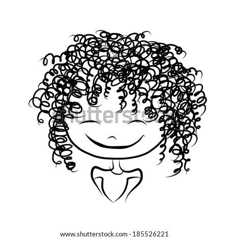Güzel kız siyah bağbozumu elbise kıvırcık saçlı poz Stok fotoğraf © andreonegin