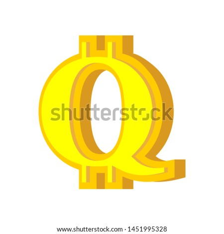Mektup bitcoin alfabe sanal para Stok fotoğraf © popaukropa