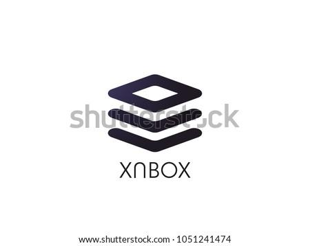 抽象的な · 技術 · 幾何学的な · バッジ · ボタン · テンプレート - ストックフォト © taufik_al_amin