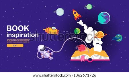 terug · naar · school · verkoop · poster · banner · kleurrijk · titel - stockfoto © articular