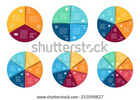 ベクトル サークル インフォグラフィック セット テンプレート サイクル ストックフォト © kyryloff