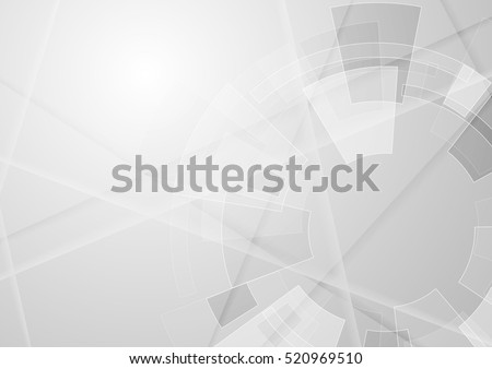 Stock photo: Abstract technology background, engineering drawing. Vector illu