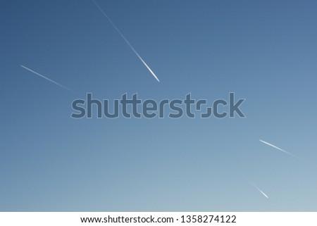 Stele of four airplane Stock photo © pedrosala