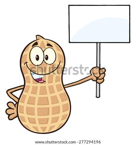 Engraçado amendoim mascote Foto stock © hittoon