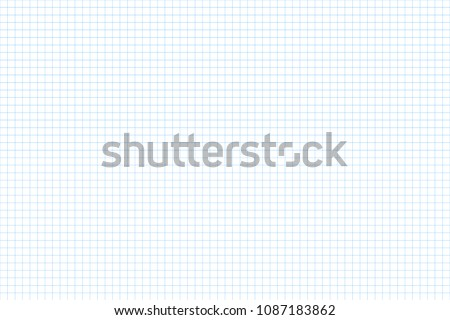 Millimeter grid. Square graph paper background. Seamless pattern. Vector illustration Stock photo © olehsvetiukha