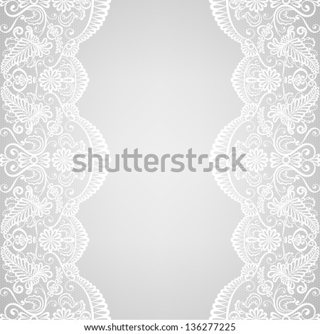 Bezszwowy wektora wzór retro ślub koronki Zdjęcia stock © RedKoala
