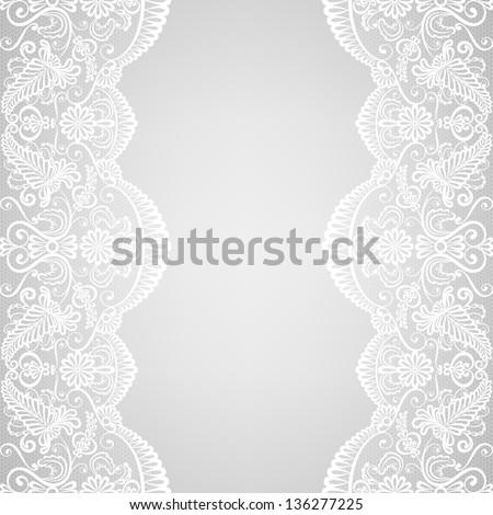 Sin costura vector patrón retro boda encaje Foto stock © RedKoala