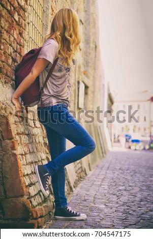 Denim shirt jeans grigio Foto d'archivio © Lopolo
