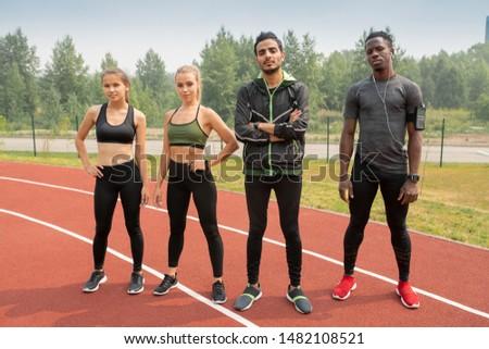 corrida · seguir · atletas · textura · esportes · fitness - foto stock © pressmaster