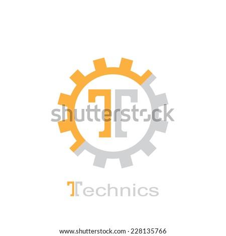 Resumen símbolo letra t artes plantilla diseño de logotipo Foto stock © kyryloff