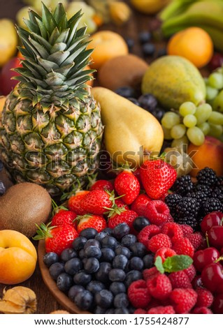 saine · pastèque · smoothie · banane · feuille · tranches - photo stock © denismart