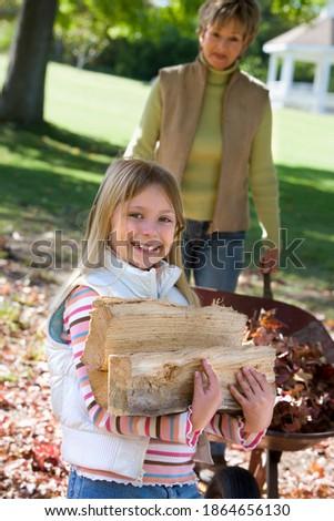 Foto stock: Ver · avó · ajuda · neta · lição · de · casa