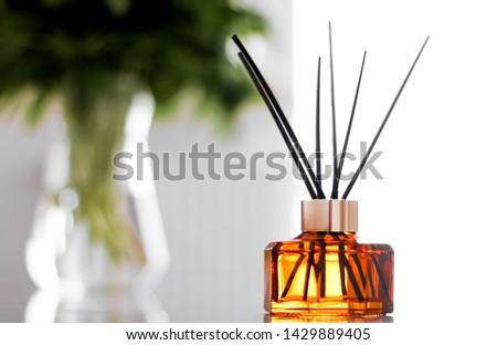 Casa fragrância garrafa europeu luxo casa Foto stock © Anneleven