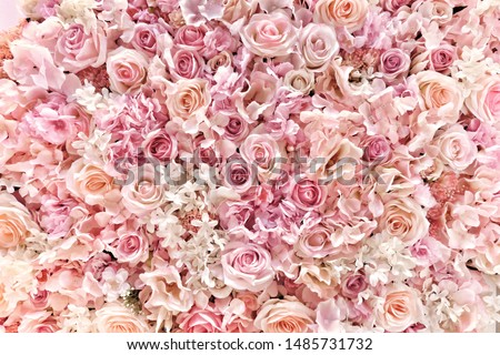 Vintage luxury bouquet of orange roses, flowers in bloom as flor Stock photo © Anneleven