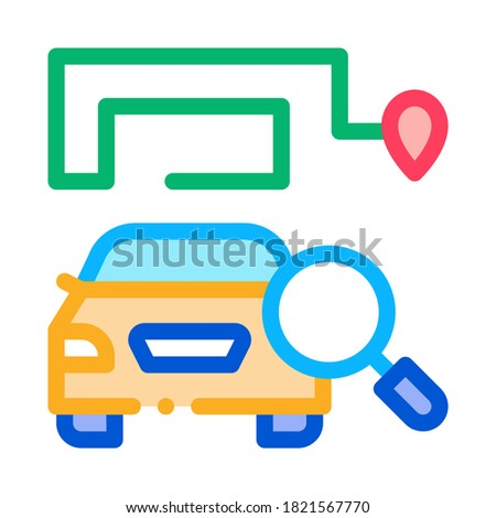 Technische studie machine icon vector schets Stockfoto © pikepicture