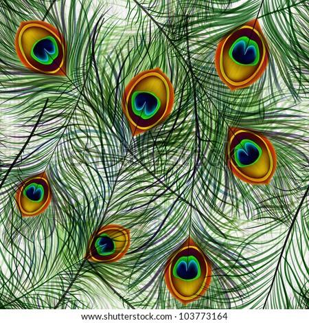 Zöld stilizált levelek szín végtelenített vektor Stock fotó © barsrsind