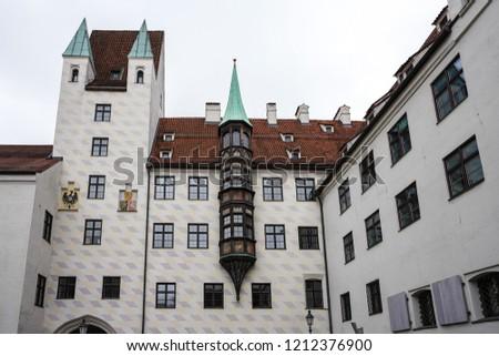 Мюнхен Германия старые суд святой Сток-фото © borisb17