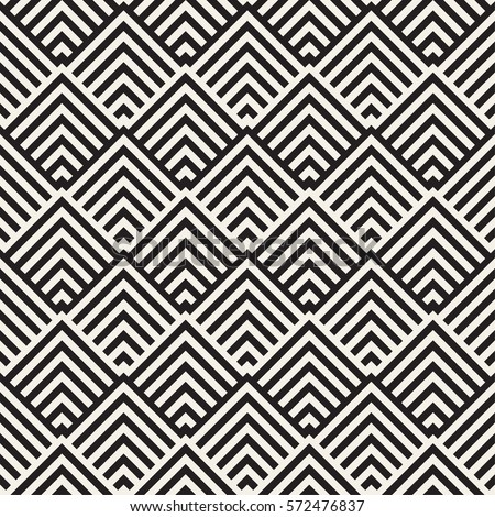 Maze Tangled Lines Contemporary Graphic. Abstract Geometric Background Design. Vector Seamless Patte Stock photo © samolevsky