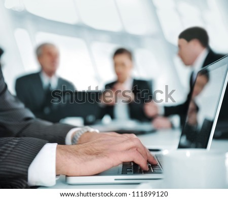 Teamwork of business lawyer colleagues, Having meeting with team Stock photo © Freedomz