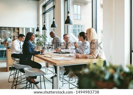 адвокат команда заседание соглашение Сток-фото © Freedomz