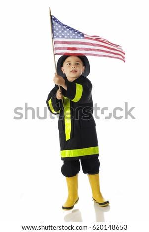 Amerykański strażak hat USA gwiazdki Zdjęcia stock © patrimonio