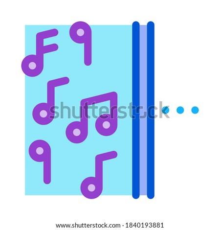 Bir yan müzik diğer yarım sessizlik Stok fotoğraf © pikepicture