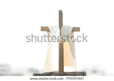 Good Friday for Jesus cross on blue colorful background vector  Stock photo © bharat