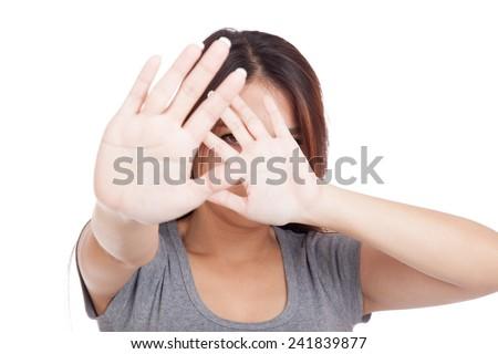 азиатских сокрытие лице подчеркнуть более Сток-фото © bmonteny
