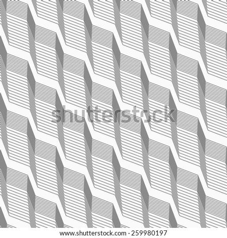Monochrome pattern with light gray striped diagonal braids with  Stock photo © Zebra-Finch