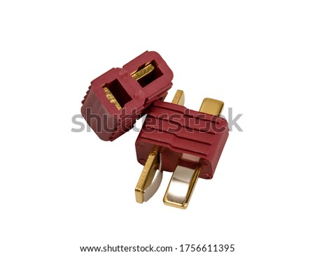 Electronic collection - Low voltage powerful connector industria Stock photo © nemalo