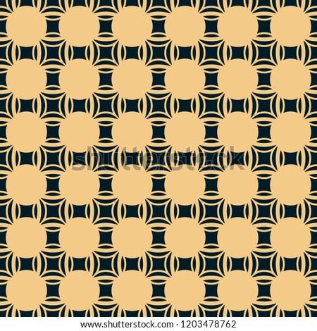 черный золото вектора бесшовный шаблон Сток-фото © Galyna