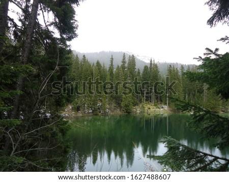 Small lake in the mountain national park Durmitor, Zminje jezero Stock photo © Steffus
