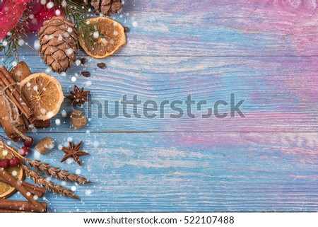 Santa Claus from cake. Christmas congratulations. New Year Vecto Stock photo © popaukropa