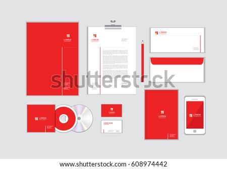 Business coprire pagina modello design marca Foto d'archivio © SArts