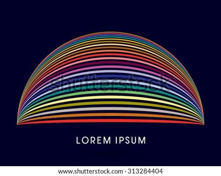 カラフル 虹 ロゴ アイコン シンボル 抽象的な ストックフォト © taufik_al_amin