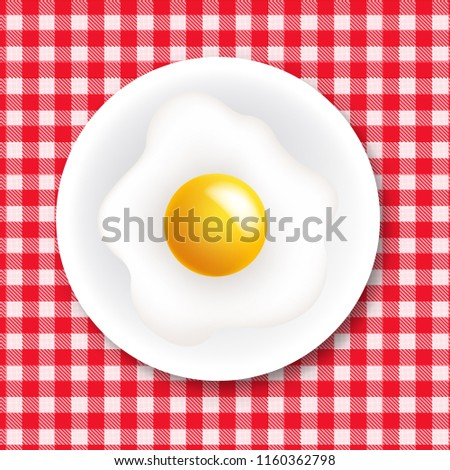 Rouge blanche nappe plaque coeur Photo stock © barbaliss