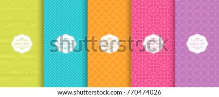 Zigzag ontwerp eenvoudige sjabloon Stockfoto © kyryloff
