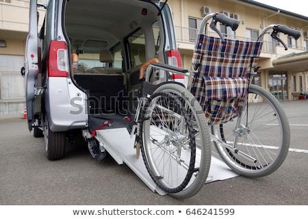 Handicap pojazd wody strony człowiek dziecko Zdjęcia stock © koratmember