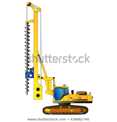 Mining Industry, Vehicles and Equipment for Bore Stock photo © robuart