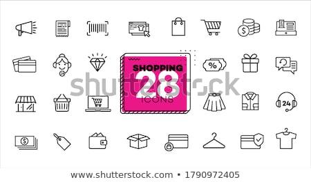 wallet banknote money online shopping Stock photo © yupiramos